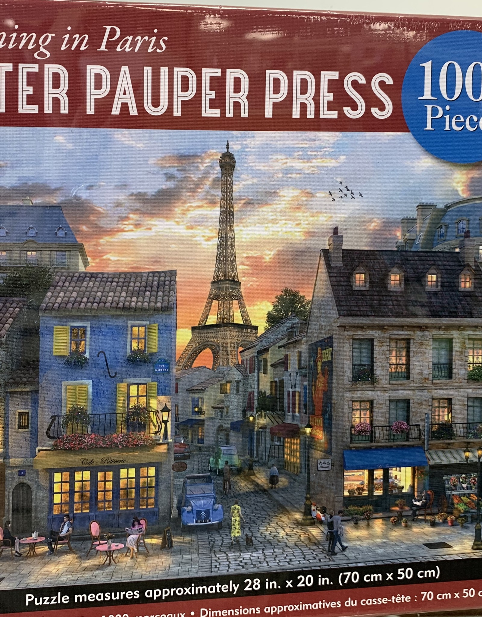 WHITE MOUNTAIN PUZZLES, INC. 1000 pc Reader's Paradise Puzzle