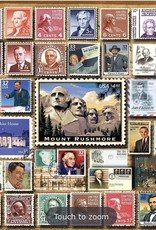WHITE MOUNTAIN PUZZLES, INC. 1000 pc Presidential Stamps Puzzle