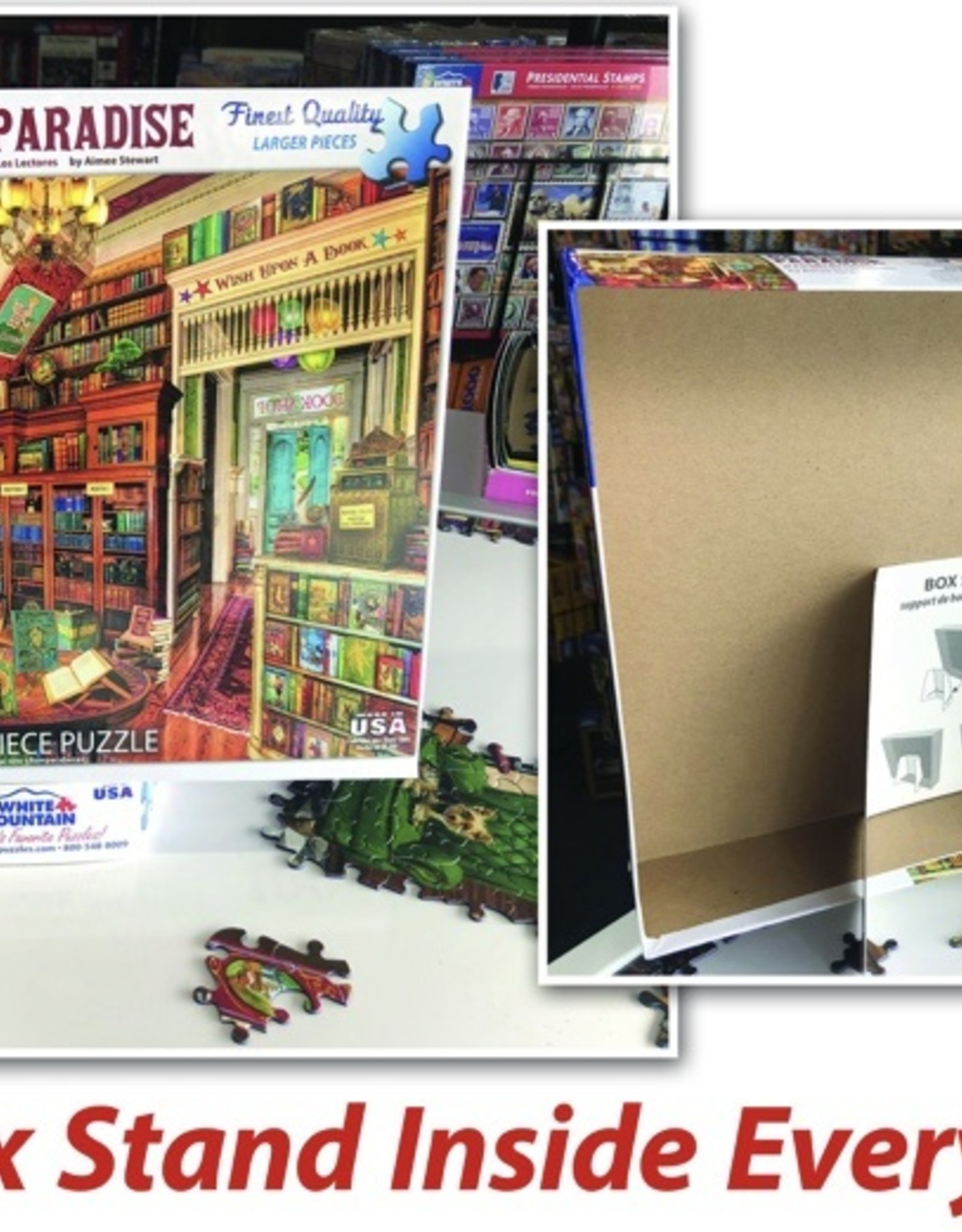WHITE MOUNTAIN PUZZLES, INC. 1000 pc Drive-In Movies Puzzle
