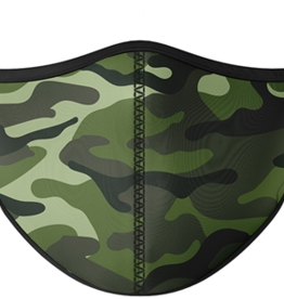 TOP TRENZ Green Camo Mask