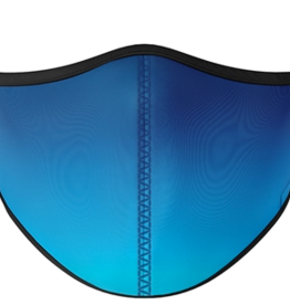 TOP TRENZ Blue Fade Mask