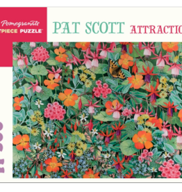 POMEGRANATE 500 Pc Puzzle-Pat Scott Attraction