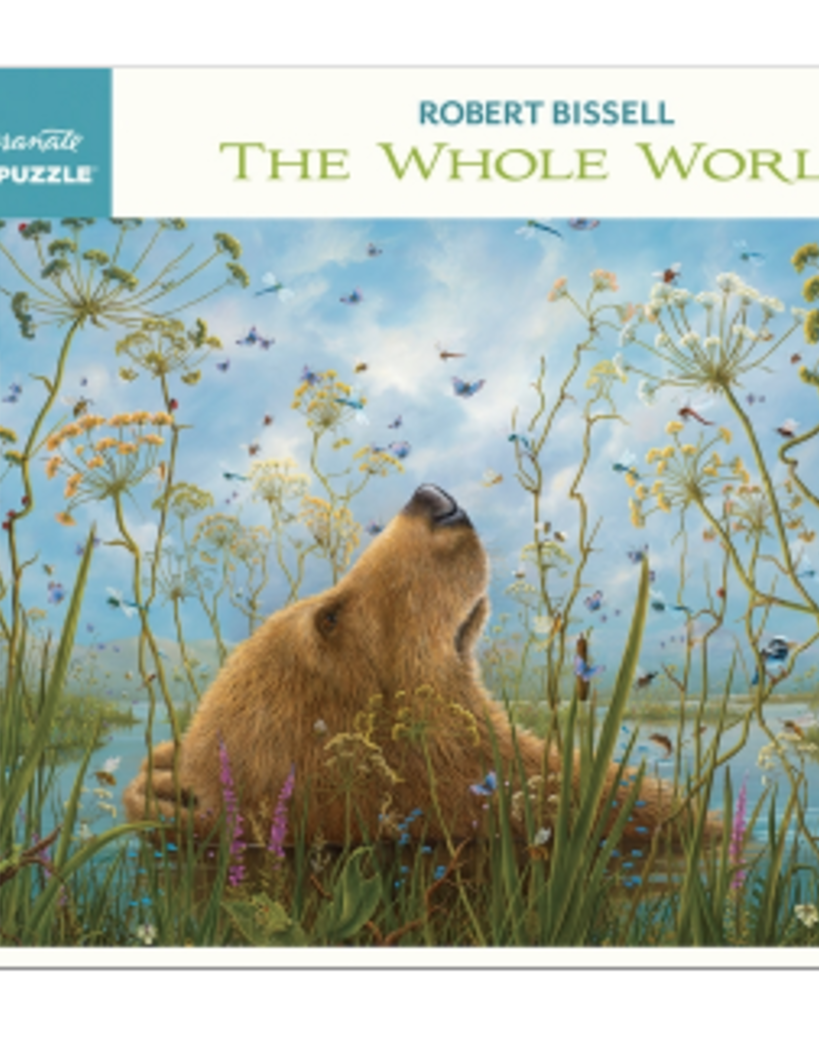 POMEGRANATE 1000 Pc Puzzle-Robert Bissell The Whole World