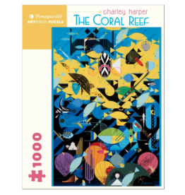 POMEGRANATE 1000 Pc Puzzle-Charley Harper Coral Reef