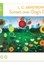 POMEGRANATE 1000 Pc Puzzle-L.C. Armstrong Sunset Over Dog's Dream