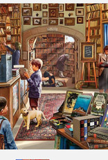 WHITE MOUNTAIN PUZZLES, INC. 1000 pc Old Book Store Puzzle