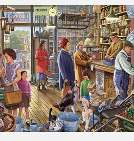 WHITE MOUNTAIN PUZZLES, INC. 550 pc The Hardware Store Puzzle