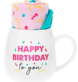PAVILION Happy Birthday Mug & Sock Set