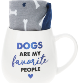 PAVILION Dogs Are My Favorite People Mug & Sock Set