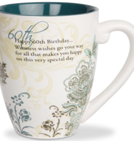 PAVILION Sentiment Coffee Mug - 60th Birthday