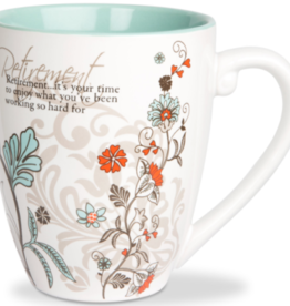 PAVILION Sentiment Coffee Mug - Retirement