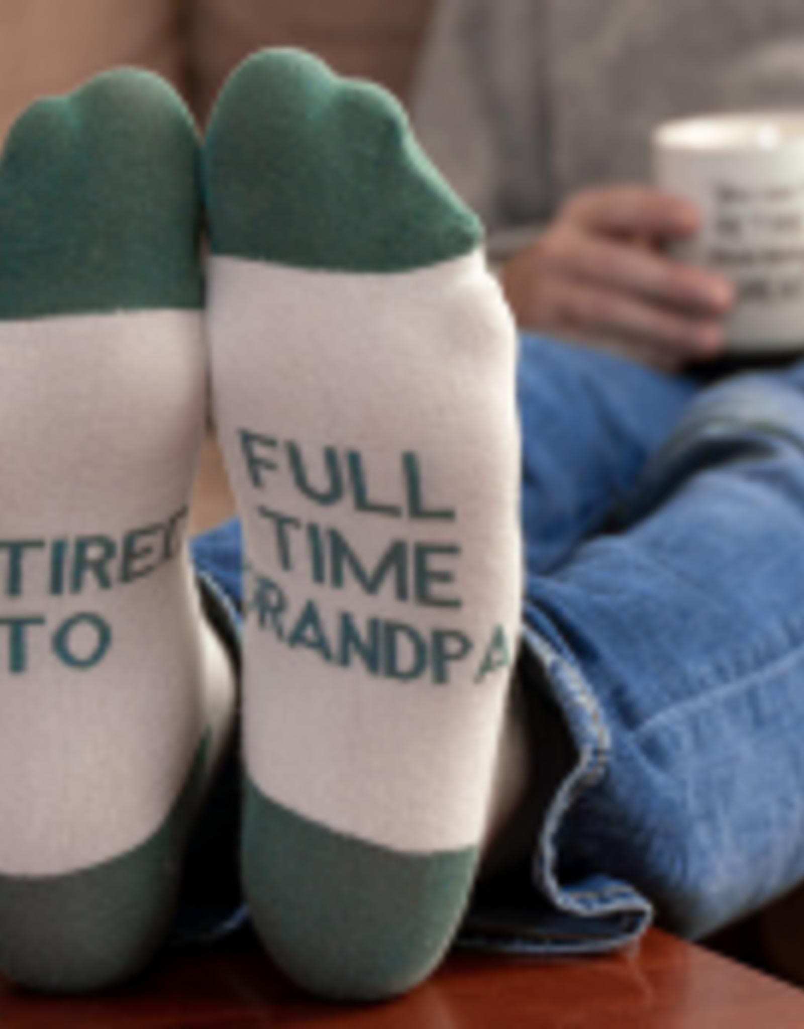 PAVILION Retired To Full Time Grandpa Socks