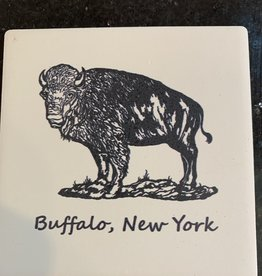 PREDMORE CREATIONS BUFFALO COASTER-BLACK AND WHITE