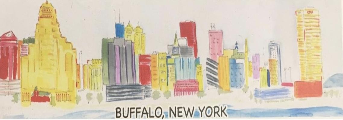 Buffalo, NY Magnet. Click for more