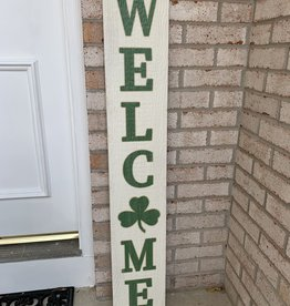 MY WORD WELCOME IRISH PORCH BOARD