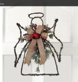 OPPORTUNITIES Twig Angel Door Decoration