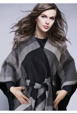 OPPORTUNITIES Tie Waisted Poncho