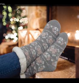 OPPORTUNITIES Snowflake Slipper Socks
