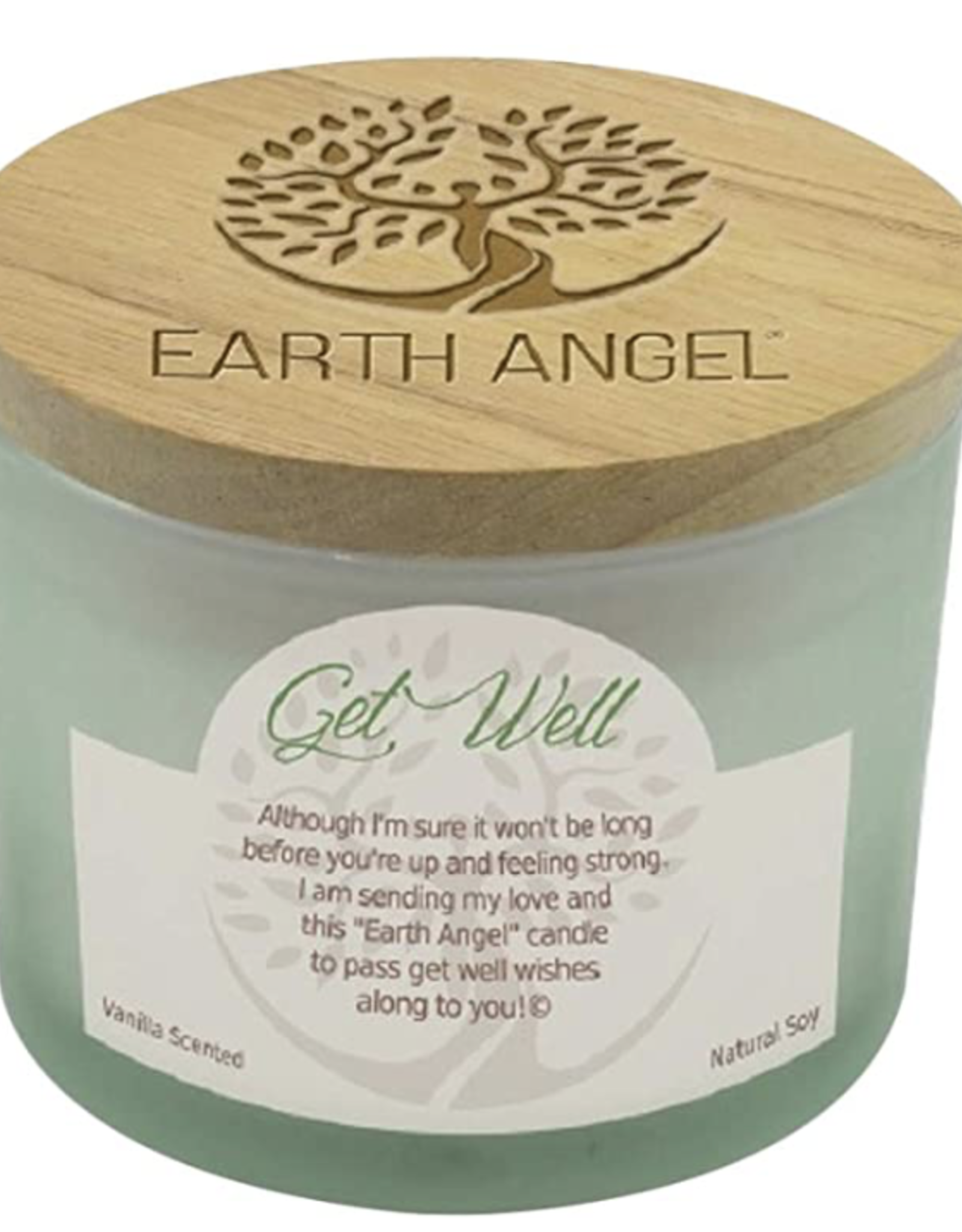 EARTH ANGEL Earth Angel Candle - Get Well