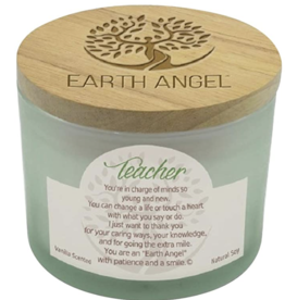 EARTH ANGEL Earth Angel Candle - Teacher