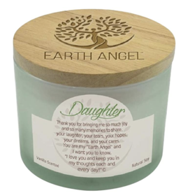 EARTH ANGEL Earth Angel Candle - Daughter