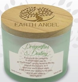 EARTH ANGEL Earth Angel Candle - Dragonflies & Destiny