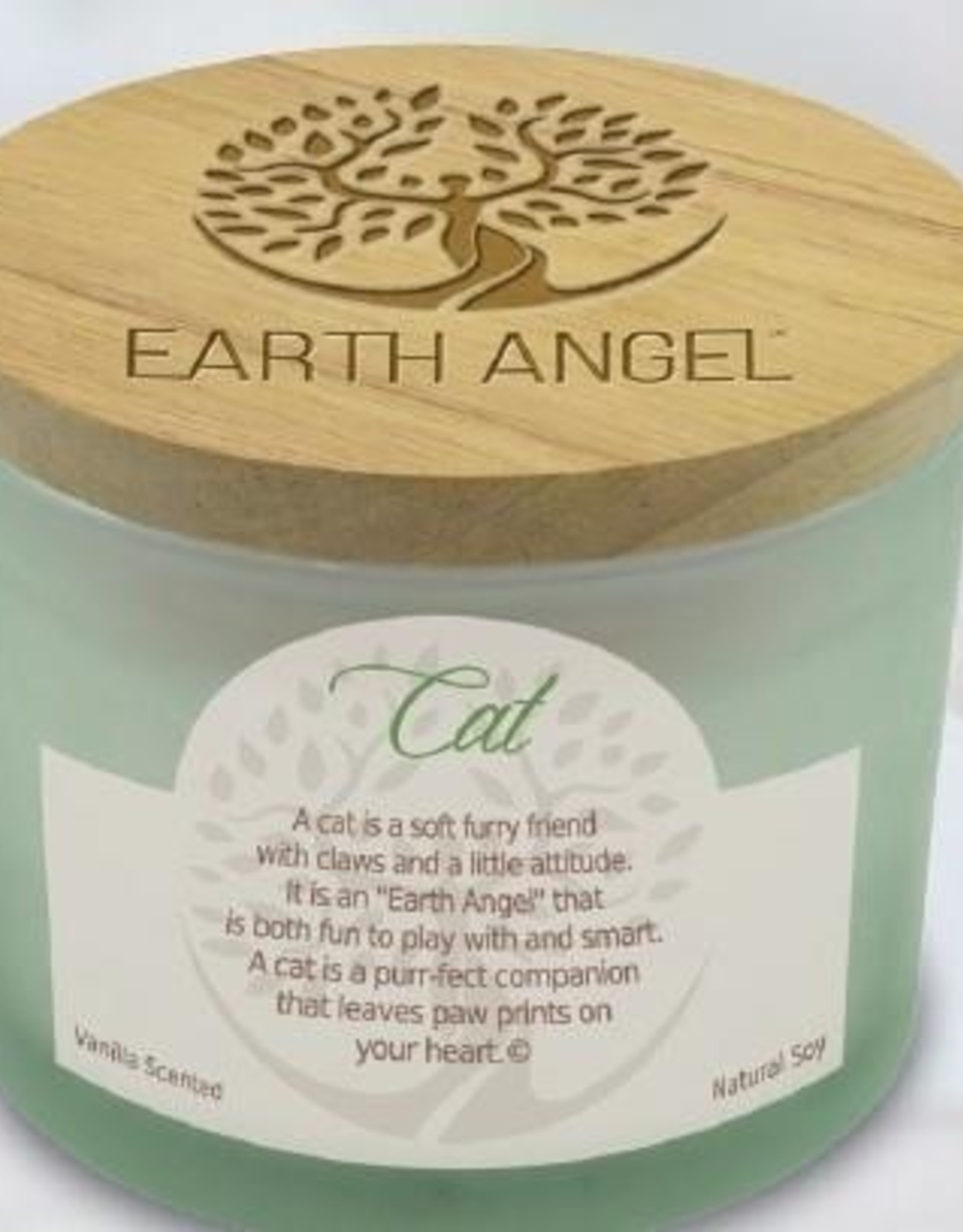 EARTH ANGEL Earth Angel Candle - Cat