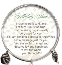 CLOCK IT TO YA EARTH ANGEL BRACELET - BIRTHDAY WISH