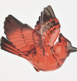 ENESCO Cardinal Messenger Ornament