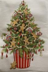 MARY LAKE THOMPSON Mary Lake Thompson Tree with Gingerbread Dishtowel