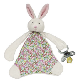 MAISON CHIC Pacifier Blanket - Beth the Bunny