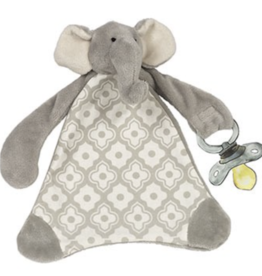 MAISON CHIC Pacifier Blanket - Emerson the Elephant