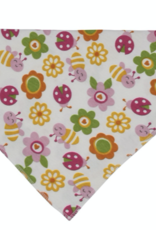 MAISON CHIC Bandana Bib - Bugs & Flowers