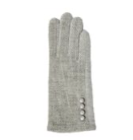 TOP IT OFF Chenille Gloves - Grey