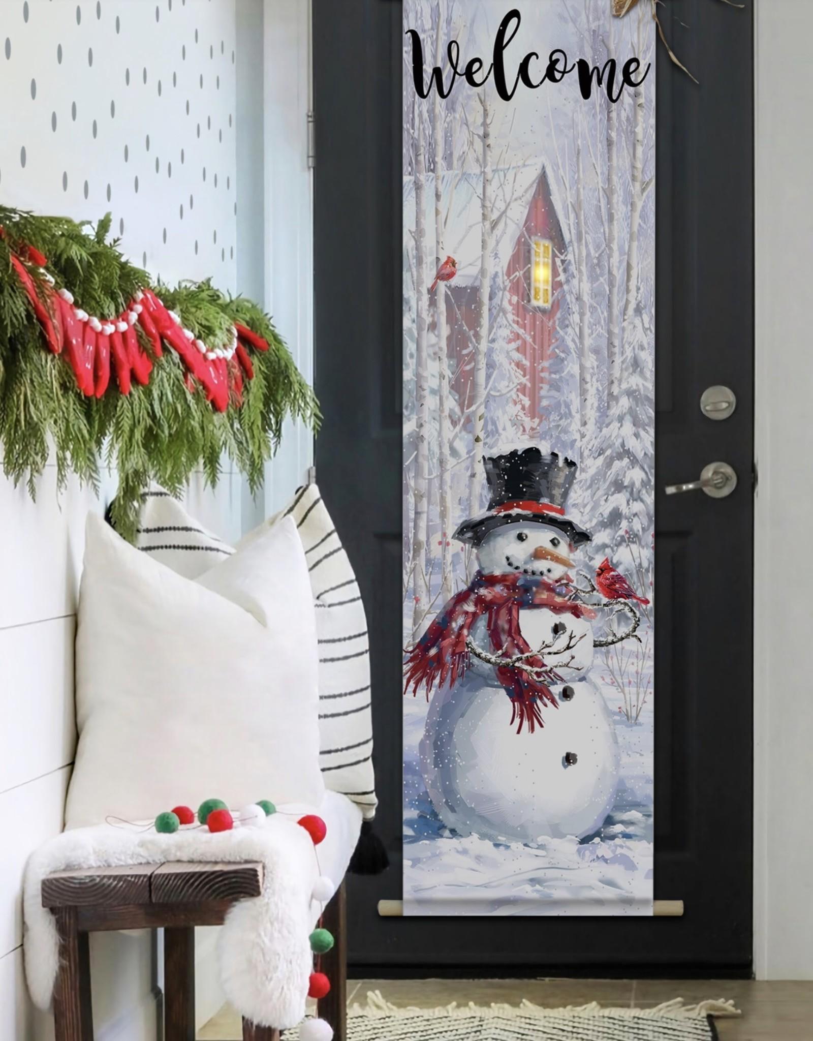 OPPORTUNITIES Snowman LED Door Hanger
