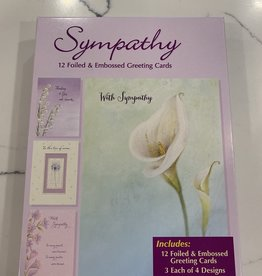 Designer Greetings Boxed Sympathy Assortment-12/box