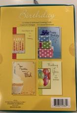 Designer Greetings Boxed Birthday Assortment-12/box