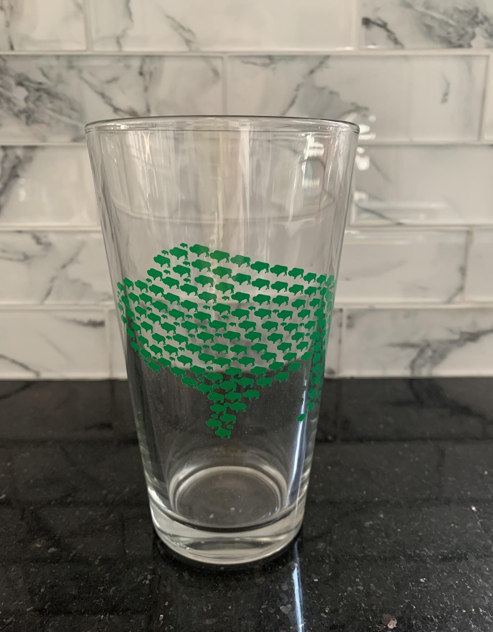 99 Buffalo Pint Glass