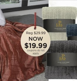 PALMER MARKETING Jacquard Throws