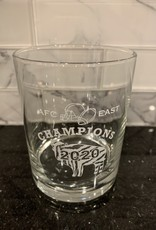 2020 BUFFALO BILLS AFC EAST CHAMPS ROCKS GLASS