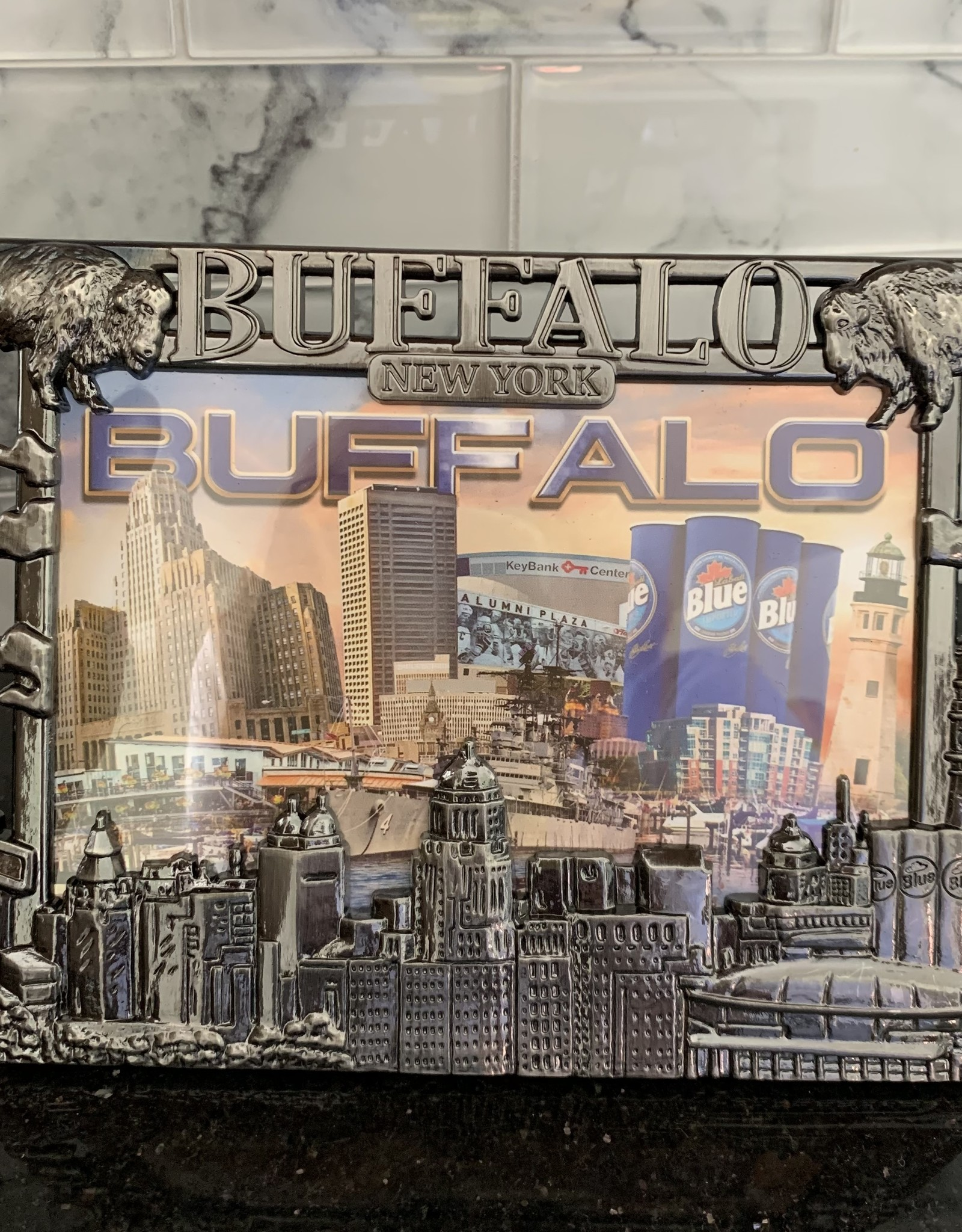 DELUXE LASERWORKS, INC. COPPER BUFFALO, NY FRAME