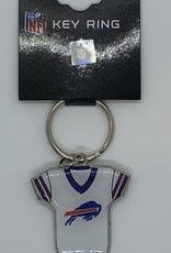 GOOD TYMES ENTERPRISES BUFFALO BILLS HOME AWAY JERSEY KEYCHAIN