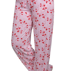OPPORTUNITIES VALENTINE HEART LOUNGE PANTS