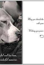 DOG SPEAK Dog Sympathy Card