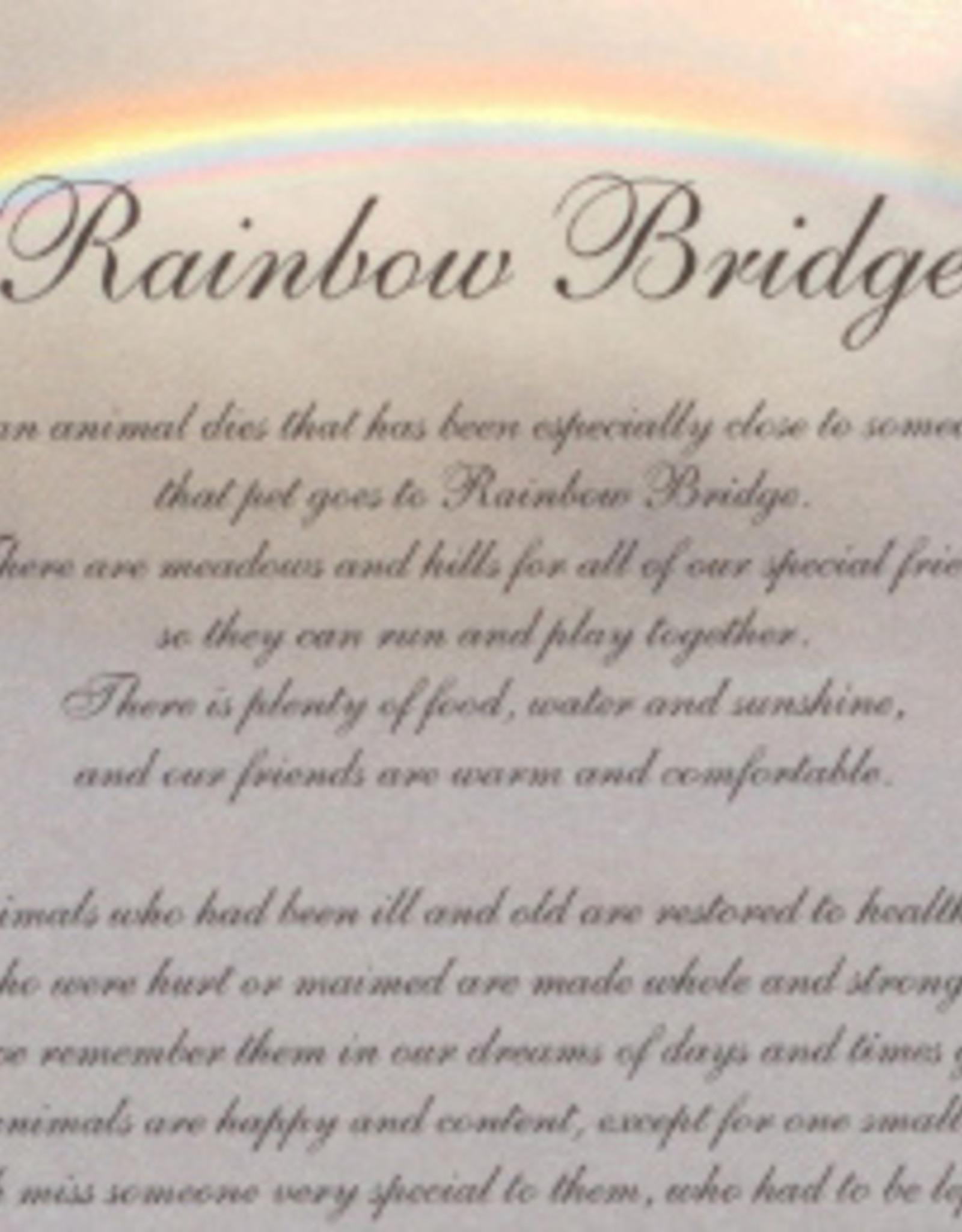 Rainbow Bridge Sympathy Card