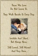 DOG SPEAK Dog With Sympathy Greeting Card