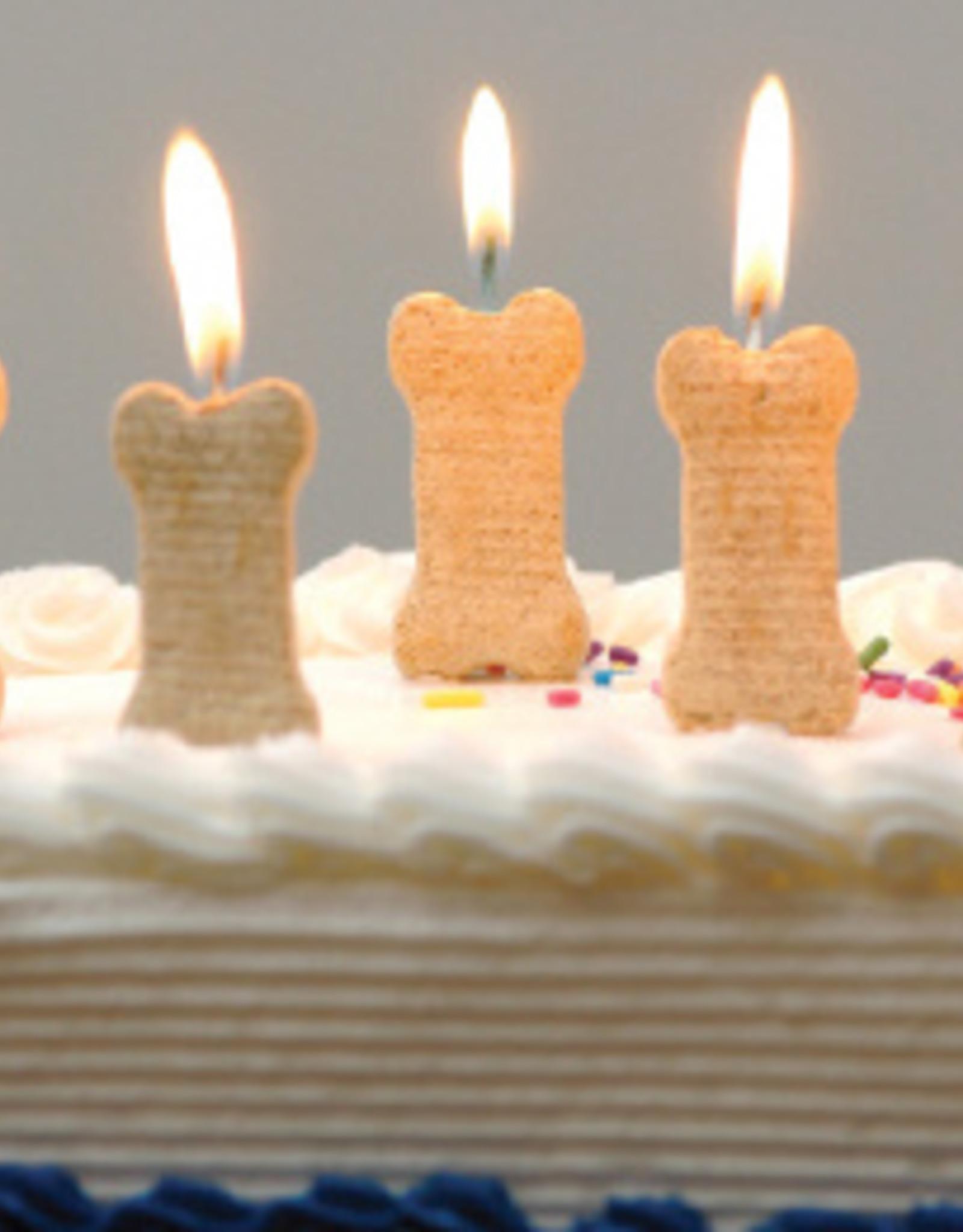 DOG SPEAK Dog Bones Birthday Day Cake Birthday Card