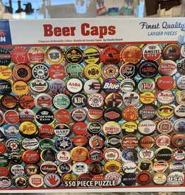 WHITE MOUNTAIN PUZZLES, INC. 550 pc Beer Caps Puzzle