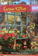 WHITE MOUNTAIN PUZZLES, INC. 1000 pc Curious Kittens Puzzle