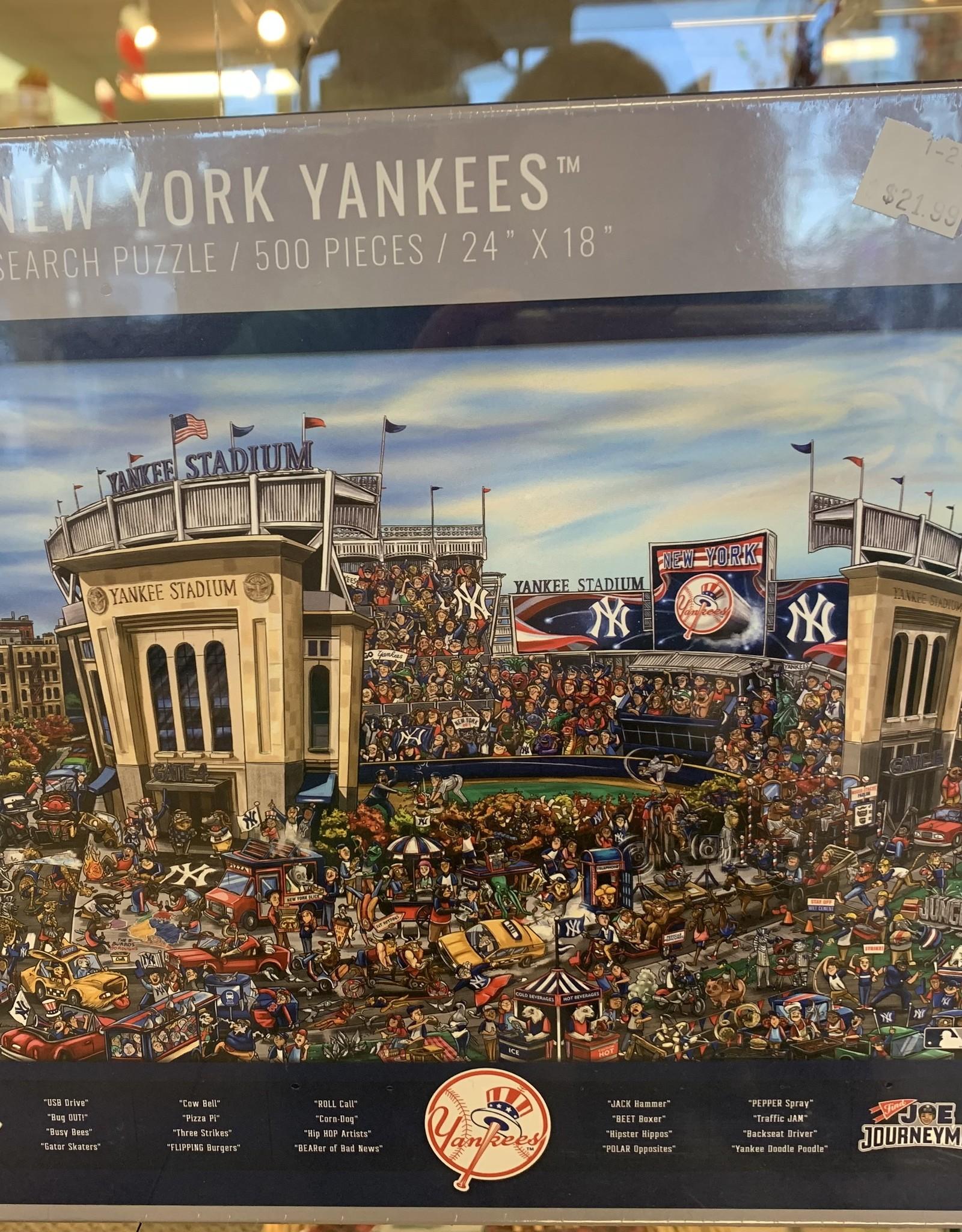 WHITE MOUNTAIN PUZZLES, INC. 500 pc NY Yankees Puzzle
